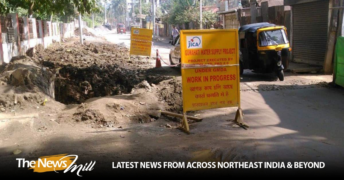 Guwahati faces drinking water crisis; residents forced to ...